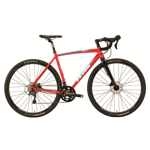 GRAVEL GRIT 330 RED XS/49cm