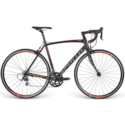 GIRO15072 BLACK/RED/CHARCOAL M  53cm