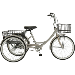 TRIKE 7 SPEED ALLOY CHAMPAGNE