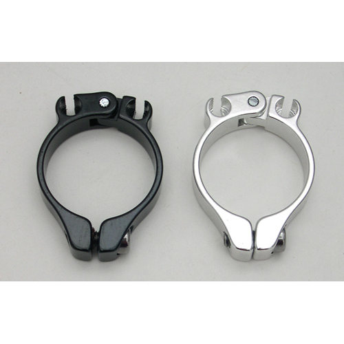 IRD ALLOY HOUSING CLAMPS BLACK 28.6 mm