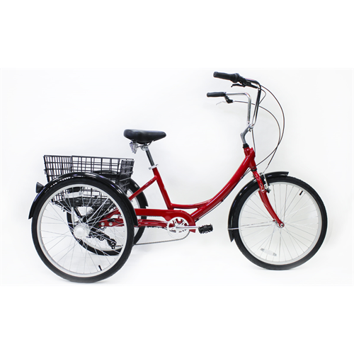 TRIKE 7 SPEED ALLOY RED